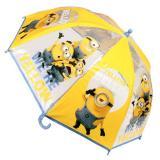 Průhledný deštník Mimoni yellow