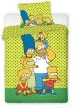 Povlečení Simpsonovi žluté 140/200