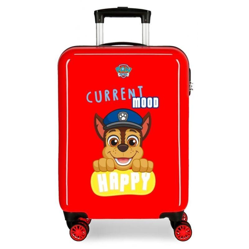 Cestovní kufr ABS Paw Patrol Playful red 55 cm