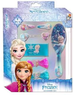 Doplňky do vlasů v dárkové krabičce Ledové Království