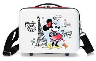 Kabelka Minnie Around the World Paris Red