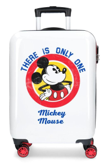 Cestovní kufr ABS Mickey Magic only one 55 cm