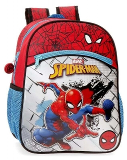 Junior batoh Spiderman Red 32cm