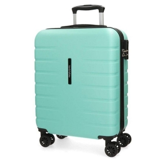 Cestovní kufr ABS MOVOM Turbo Turquoise 55 cm